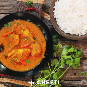 recette original de repas local, livrée en Martinique au bureau ou à domicile