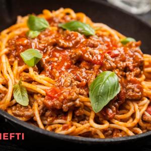 Spaghetti Bolognaise livré chez vous en Martinique