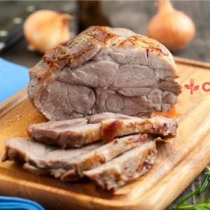 Rôti de porc sauce groseilles, commandez votre repas et faites vous livrer en Martinique, à fort de france, au lamentin et dans bien d'autres communes