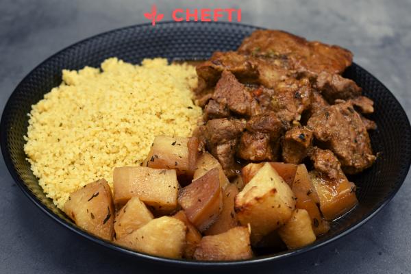 Dinde Sauté, repas livrés chez vous en Martinique, Digne de restaurant, livrés sur fort de france, le lamentin et bien d'autres communes
