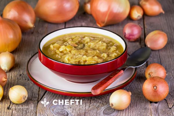 Soupe à l'oignon, livré chez vous en Martinique, chef en Martinique qui vous propose de délicieux repas