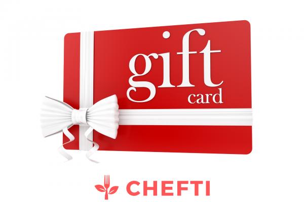 Carte cadeau CHEFTI, offrez des repas à vos proches, rien de mieux pour bien manger ! De délicieux repas, livrez chez vous en Martinique, à fort de france, au lamentin, schoelcher et dans bien d'autres communes